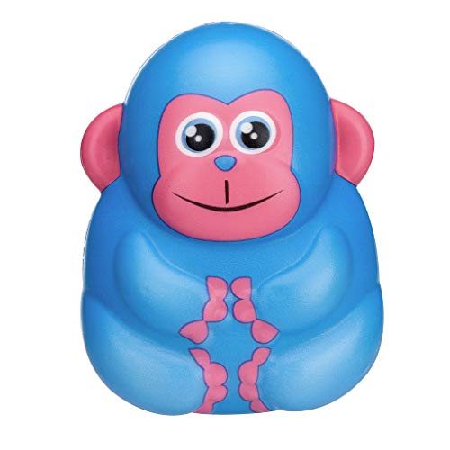 Cooljun Squishies Toy Kawaii Entzückender AFFE Toy Langsam steigende Creme duftende Stressabbau Spielzeug Geschenke für Erwachsene und Kinder Weihnachten Geschenk (11x7cm/4.33x2.76inch, ()