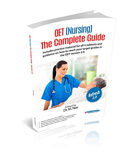 OET (Nursing) The Complete Guide - Refresh 2.0 Complete Guide Book and DVD 2018