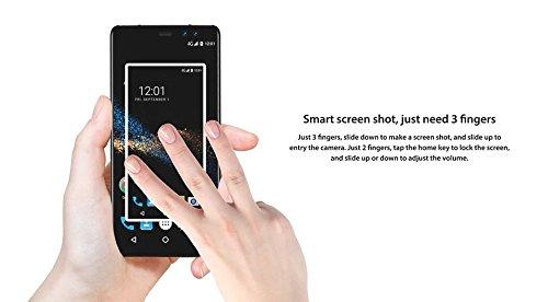 M-Horse Pure 1 - 5 7  IPS  relaci  n 18  9  pantalla Android 7 0 4G Smartphone  4380mAh bater  a Quad Core 3GB   32GB  cuatro c  maras - gris