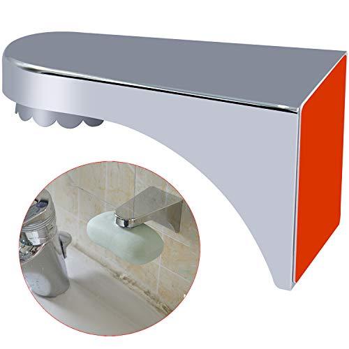 SANTOO Magnetische Seifenschale Wandmontage Seifenkiste Magnetseifenhalter für Badezimmer