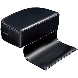 Coussin de siège Rehausseur pour enfant en cuir pour enfants Barber Salon Spa équipement Styling Coussin d'assise pour dos