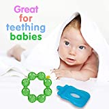 BOXO Newborn Baby Teether, Soft Teethers For Toddlers, Multi Color, Pack Of 1