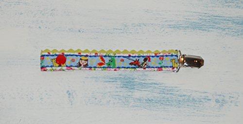 Newsbenessere.com 41tMzdyjiML Catenella Portaciuccio Principessa, Accessori Bambini, Porta Ciucco, Ciuccio Clip, Ragazza, Articoli per Bebè, Fatto a Mano