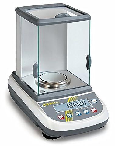Balance d'analyse [Kern ALS 250-4A] Précision et prix au centre d'attention, Portée [Max]: 250 g, Lecture [d]: 0,1 mg, Reproductibilité: 0,1 mg, Linéarité: 0,3 mg