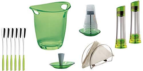 BUGATTI - Set von 12 Stück Glamour - Grün