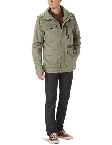 Rip Curl Service Jacket Veste Zippée homme Fatigue XL
