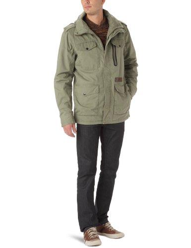 Rip Curl Service Jacket Herrenjacke mit Reißverschluss XL Fatigue