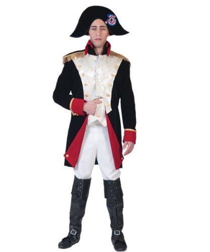 Pierro´s Kostüm Napoleon Größe (Für Kostüm Frankreich Kinder)