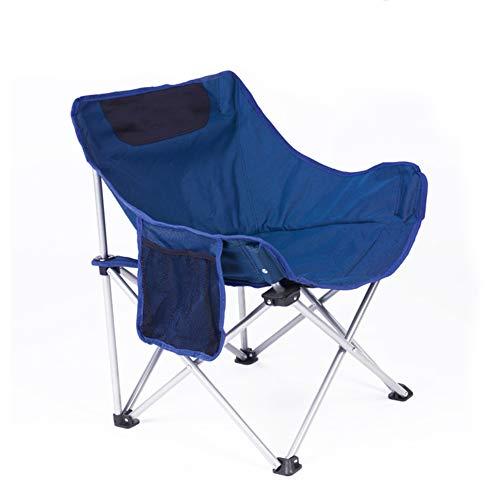 MedvLisd Portable Campingstuhl,Perfekt für Camping Rucksack & Outdoor-Festivals,Kompakte & schwere Pflicht (Unterstützt 165 lbs) Mit tragebag-A 61x66cm(24x26in)