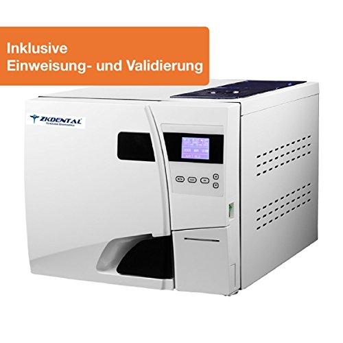 12L Autoclave 3-Vacuums Autoklav B klasse mit Drucker USB Sterilisator