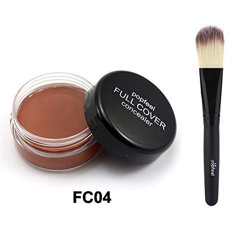 TWBB_Bases de maquillage Multicolor Fondation Liquide-Fond de Teint -Anti-cernes Liquide Fond de Teint étanche Correcteur de couvrance Liquide BB Creme (Fondation) pour Femmes Filles