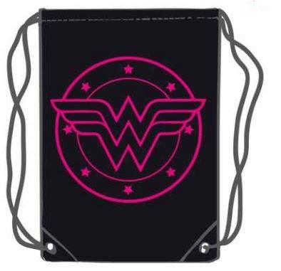 LAST LEVEL, Saco mochila bolsa Wonder Woman Adultos unisex, Multicolor, Medio