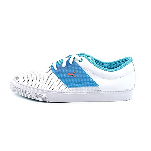 Puma El Ace T Chaussures White-Blue Bird-Tigerlily