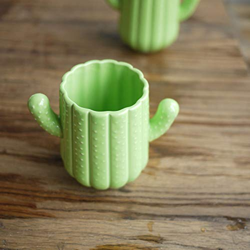 Grass Green Grainy Cute Shape Three-dimensional Cactus Cup/Tea Cup/Pudding Cup
