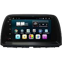 TOPNAVI 9 Pulgadas 32 GB Quad Core Android 7.1 de Audio del Coche para Mazda CX-5 2014 2015 2016 Auto Stereo Radio Player GPS Navigaton con WiFi 2 GB de RAM ...