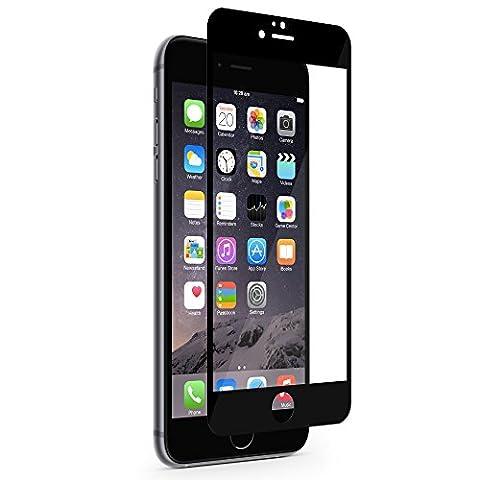 Moshi iVisor XT Film de protection d'écran premium pour iPhone 6 Plus Noir/Transparent