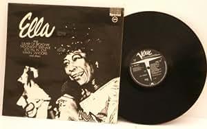 ELLA FITZGERALD Ella sings. TOP COPY. UK pressing A1 B1, 1959 on VERVE special.