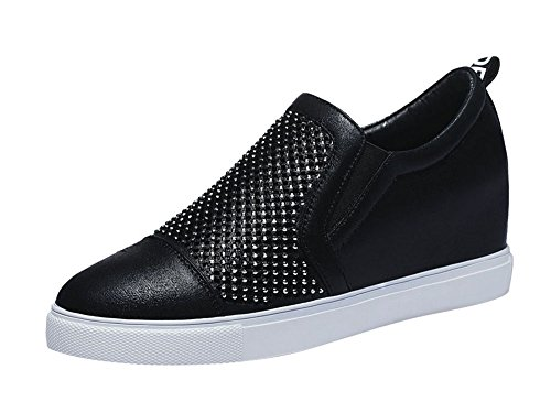 fq-real-balck-friday-womens-casual-slip-on-rhinestones-high-increase-within-loafer-35-ukblack