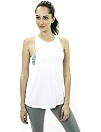 SATVA - Sports Cami Tank Top for Women (Built in Bra)