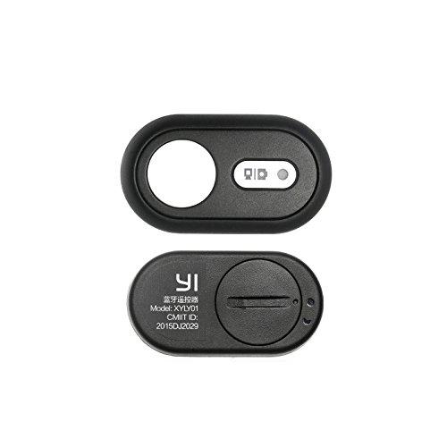 Calistouk urninaueu cámara mando a distancia, Bluetooth V4.1disparador selfie para Xiaoyi Deporte Cámara Negro