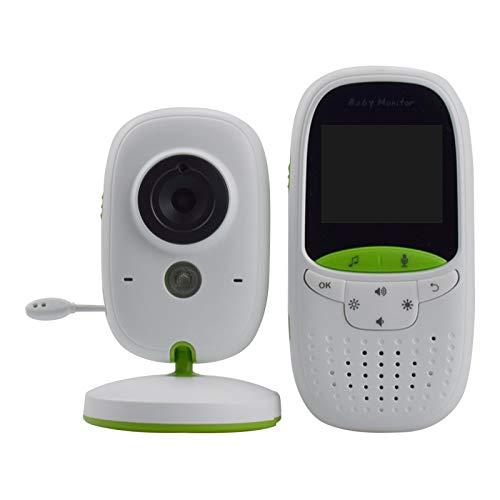 Baby Monitor, HD Baby Monito 2.0 pollici Wireless Baby Monitor Dispositivo di cura del bambino Conversazione bidirezionale Visione notturna multi-camera Baby Sleep Videocamera per bambino,Bianca