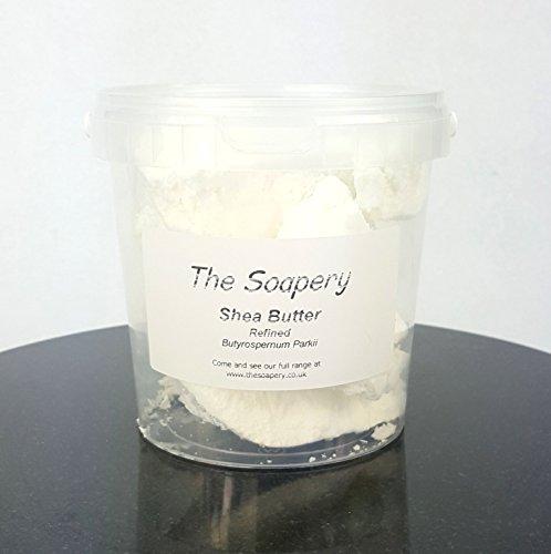 Shea Butter Raffiniert - 100% Rein Und Natürlich - 500g - 100% Raw Shea Butter