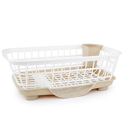 &étagère de rangement Plateaux à vaisselle Cuvette en plastique Étagère Drain Rack Cuisine intégrée étagère Armoire Baguettes Boîte de rangement Porte-vaisselle Mettre Bols étagère Rack de finition