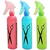 Techsun 3 Pcs Of Water Spray Bottle Hairdressing Hair Salon Spray - Random Color