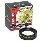 Opteka 72mm 10x HD² Professional Macro Lens for Digital Cameras