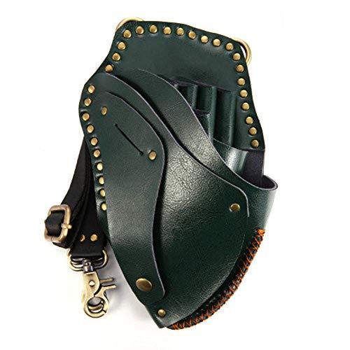 Echte Ledersalon Stylist Tools Welt Belt Belt Belt Belt Belt Professional Hairdressing Tool Pouch Barber Schere Comb Holster Waist Belt Belt,color5