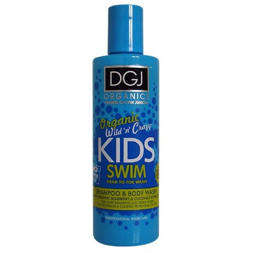 DGJ Organics Wild N Crazy Kids Blueberry & Coconut Swim All Over Wash 250ml