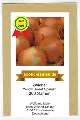 Zwiebel - Riesenzwiebel - Yellow Sweet Spanish - 300 Samen
