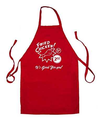 dressdown-fried-chicken-its-good-for-you-unisex-fit-apron-red