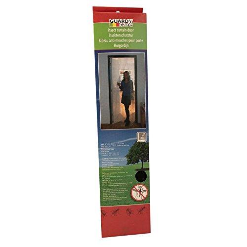 Porte 200 x 95 cm Protection Insectes Moustiques Grille de protection réseau moustiques mouches mouches Filet Rideau de porte