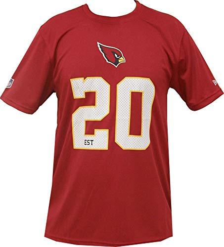 New Era Arizona Cardinals T Shirt NFL Team Supporters Tee Red - 3XL
