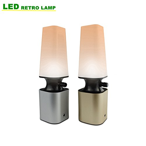 HIHIGOU Lampada da Tavolo a LED 2W Lampada da Scrivania con Porta di Ricarica USB Luce 10 Livelli di Dimmerabile Protezione degli Occhi Lampada moderna - 10 Reading Level