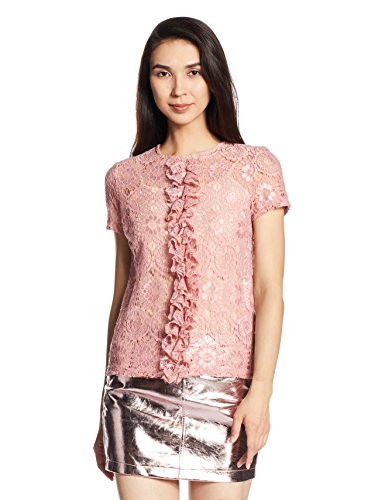 Vero Moda Women's Body Blouse Top (10164166_Bridal Rose_L)