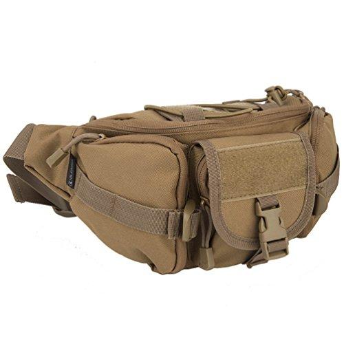 Oleander Taktische Taille Pack Military Fanny Packs Hüftgürtel Tasche Beutel Werkzeug Organizer für Outdoor Wandern Klettern Angeln Jagd Bum Bag -
