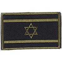 Patch Nation Israel israelí bandera de color verde bordado para Airsoft y Paintball parche