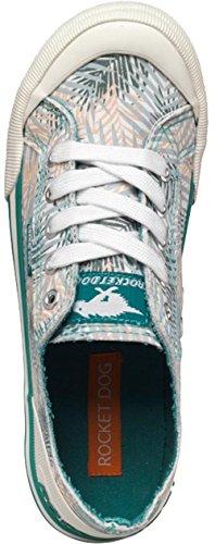 Rocket Dog , Chaussures de ville à lacets pour femme Mint Green/White/Dusky Pink