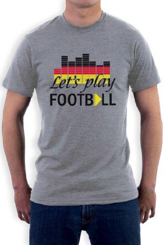 Spielen Football Club T-Shirt Grau