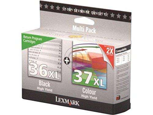 Lexmark X 5650 (36XL+37XL / 80D2978) - original - 2 x Druckkopf...