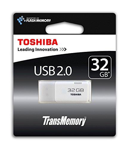 Toshiba THNU32HAYWHT 6 Hayabusa 32 GB Flash Drive USB 2.0