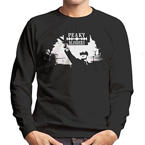 Cloud City 7 Peaky Blinders Tommy Gun Men's Sweatshirt