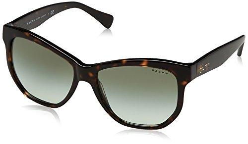 Ralph 0ra5219 13788e, occhiali da sole donna, marrone (dark tortoise/greengradient), 56