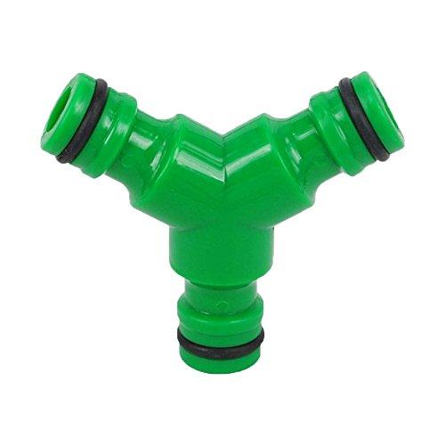 3 Vannes Raccord de tuyau d'eau pour tuyau d'arrosage coupleur Y