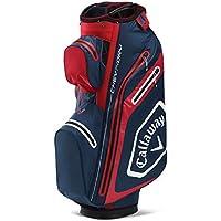 Callaway Golf Bags 2020 Chev Dry 14-Bolsa para Carro, Color Marino, Unisex Adulto, Azul Oscuro y Rojo, Talla única
