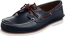 Timberland Classic 2 Eye, Chaussures Bateau Homme, Bleu MD Blue Full Grain, 47.5 EU