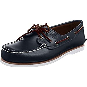 Timberland Classic 2 Eye, Men's Boat Shoes, Md Blue Full Grain, 9 UK (43.5 EU)