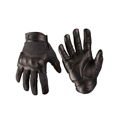 Mil-Tec Tactical Gloves Leder/Aramid schwarz Gr.L